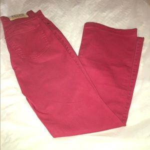 Dolce & Gabbana  Vintage Dark Red Jeans